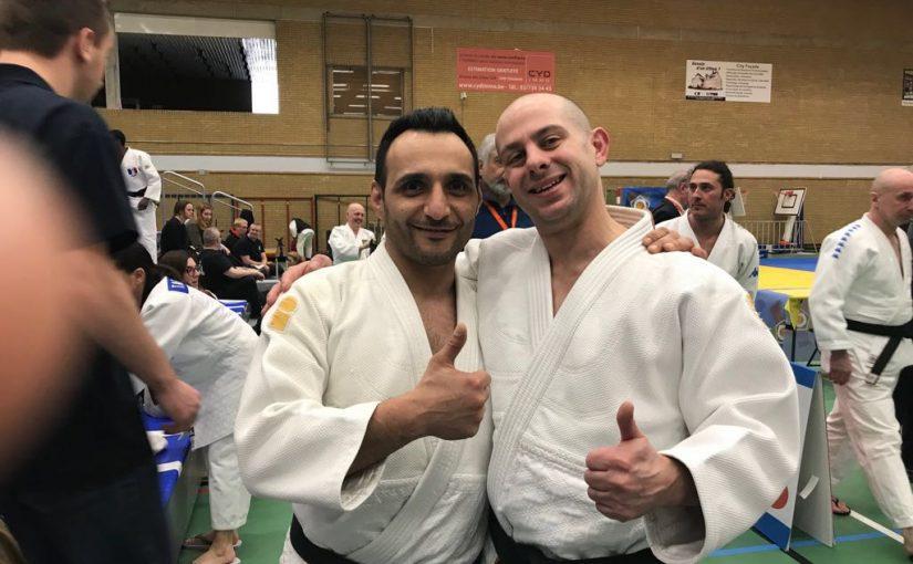 Riesenerfolg beim EJU-Kata-Turnier in Belgien für Yusuf Arslan und Sergio Sessini