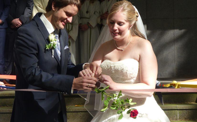 Tanja und Chris haben geheiratet