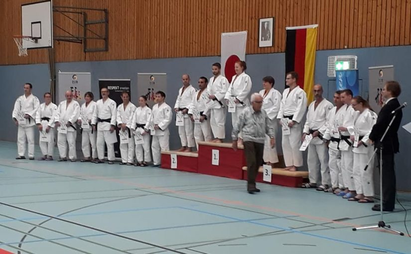 2. Platz für Yusuf beim Internationalen Kataturnier in Bonn