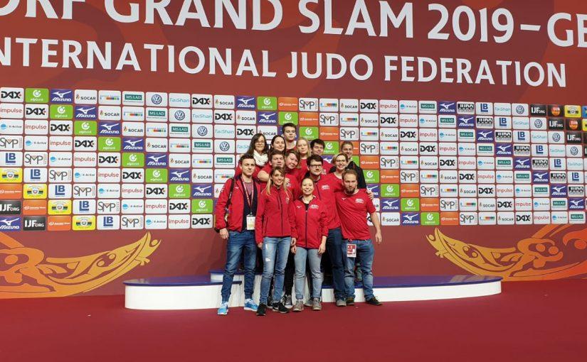 PSV Judoka beim Grand Slam in Düsseldorf