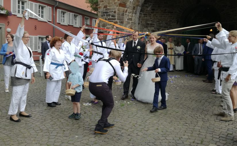 Hochzeit beim PSV
