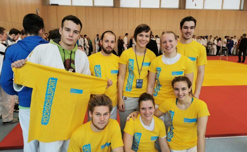 Julia Winter mit Verletzungspech bei den Deutschen Hochschulmeisterschaften 2019