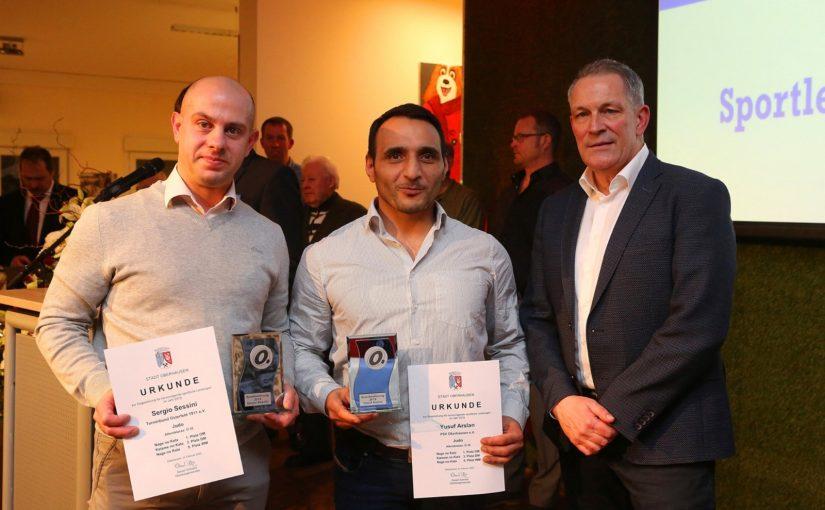 Yusuf Arslan (wieder) geehrt als Sportler des Jahres 2019