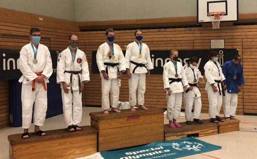 Nina bei den Special Olympics als Uke erfolgreich